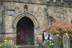 Bakewell All Saints, Main Entrance (little mester.) Tags: derbyshire peakdistrict bakewell allsaintschurch normanchurch