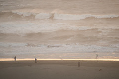 sunset (Olesia P.) Tags: sanfrancisco california sunset fog march pacificocean oceanbeach 2014 100400 sonyalpha99
