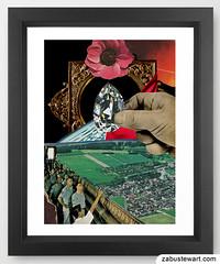 """Zabu Stewart - """"Hand Picked"""" (Zabu Stewart) Tags: art collage contemporaryart modernart surrealism surreal zabustewart zabustewartart"""