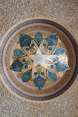Dualty (Rhy@n) Tags: light temple gold muslim mosque ceiling ornament zayed abudhabi