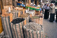 Amman Souq (Nicholas Olesen Photography) Tags: street city people shop commerce market amman middleeast jordan spices souk bags souq