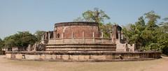 Vatadage (The Stupa House), Dalada Maluwa, Polonnaruwa, Sri Lanka (pawel3838) Tags: sculpture sun saint temple asia buddha stupa prayer pray divine sri lanka sacred srilanka ceylon meditation hindu eastasia polonnaruwa sinhalese dalada vatadage maluwa