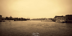Stockholm (Terezaki ) Tags: light sea birds yellow sepia port landscape boats island photography photo europe day cityscape searchthebest sweden stockholm scandinavia pictureperfect waterscape naturesfinest 100faves 50faves 100favs anawesomeshot flickrdiamond theperfectphotographer