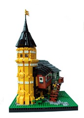 The Twisted Victorian (Pate-keetongu) Tags: house building lego archiecture steampunk moc