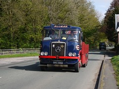 Atkinson Mk1 Silver Knight recovery BRE596D (Ben Matthews1992) Tags: road old classic truck vintage silver wagon cheshire transport run 1966 lorry commercial knight breakdown tow recovery waggon the 2014 atkinson allman mk1 bre596d thecheshirerun2014
