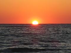 Setting sun, Gulf of Mexico at Sarasota, Florida (Paul McClure DC) Tags: gulfofmexico scenery florida sarasota lidokey saratogacounty may2014