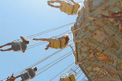 Youth. Morey's Piers. (ohgoodgracious) Tags: carnival summer sky festival youth canon fun pier fly flying newjersey swings young nj free fair swing amusementpark summertime swinging wildwood summerfun jerseyshore southjersey carnivalrides moreyspier thewildwoods downtheshore moreyspiers teamcanon