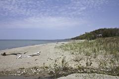 IMG_7003 (awaketoadream) Tags: sky lake ontario canada beach water port canon eos spring albert shoreline may shore huron 2014 60d
