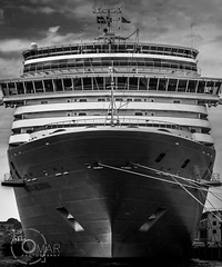 _DSC7628 (Omar Shalhoub) Tags: travel cruise windows vacation art tourism water beauty turkey creativity spring nikon europe mediterranean ship istanbul deck anchor huge editorial titanic turkish bosphorus d800
