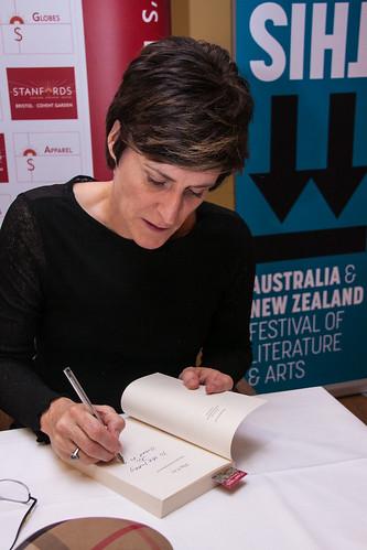 Helen Fitzgerald book fan photo