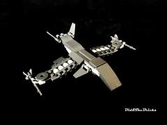 Spaceship Fighter (did b) Tags: moc lego legomoc legocreation legoart space spaceship spacecraft fighter