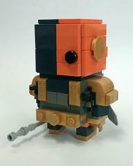 Deathstroke Brickheadz updated (DW Studios - MI) Tags: lego moc bricksheadz deathstroke heo villain superhero supervillain antihero