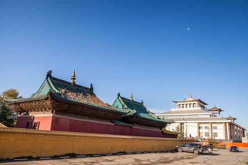 Inside the Gandan Temple Complex 9220