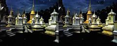Thai nights 3D (Foto&Grafica 2D/3D) Tags: chiangmai thailand night