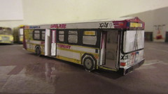 X278 - Trans Conglomerate Bus X278 (Etienne Luu) Tags: trans conglomerate inc gillig low floor lowfloor advantage x278 model paper cardstock bus 35 footer foot