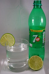 Lime (tim ellis) Tags: lime fruit citrusfruit green 7up drink bottle msh0217 msh02172