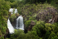 Florence Falls (Wet Season): Litchfield National Park (Shane Bartie) Tags: florence falls rocks litchfield national park dry season top end nt australia shane bartie landscape waterfall water outdoor watercourse serene