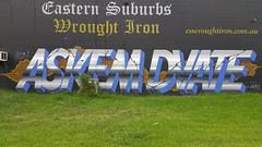 Askem & DVATE... (colourourcity) Tags: streetart streetartaustralia graffiti melbourne burncity awesome streetartnow burner letters alphabetmonster askem ask arsk dvate dv8 dv8te adn sdm mdr f1 joiner