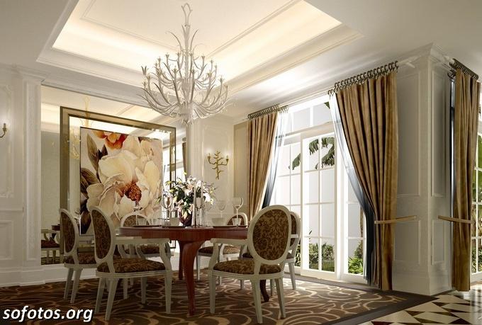 Salas de jantar decoradas (103)