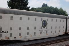 Rochelle - August 2011 (ChessieFan2) Tags: railroad car illinois tank pacific union trains covered gondola locomotive coal hopper freight bnsf rochelle dieselengine intermodal