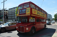 Routemaster, Kensington (stavioni) Tags: red bus london transport group first 9 route routemaster rm tfl 1640 rm1640 640dye