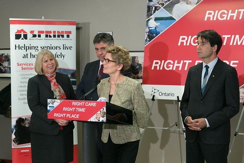 Premier Wynne's Press Conference - 140 Merton - April 2013 (1)