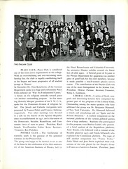 Club Records (Page 6/10) (Hunter College Archives) Tags: students club photography italian yearbook clubs hunter activities 1937 huntercollege studentorganizations organizations studentactivities peaceclub physicsclub liberalclub studentclubs wistarion studentlifestyles thewistarion
