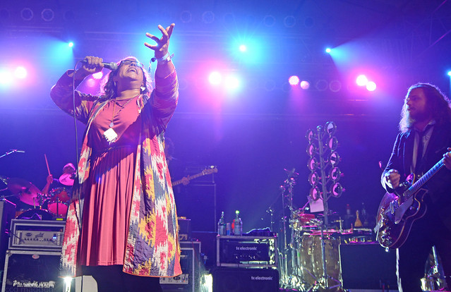 Brittany Howard of Alabama Shakes at  Soul Supper Jam