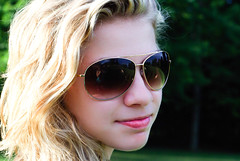 (Carissa Ann Veronica) Tags: summer portrait woman girl sunglasses outside outdoors sister teen