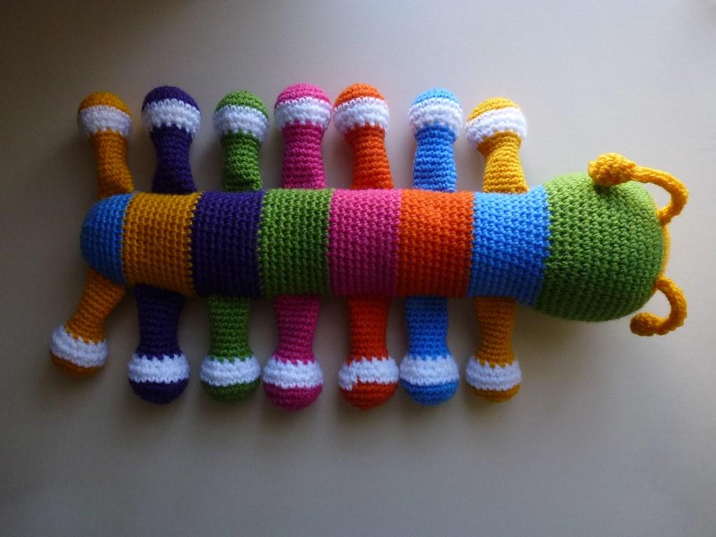 Amigurumi Caterpillar : The worlds best photos of amigurumi and caterpillar flickr hive mind