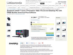 Product photography featured on Littlewoods