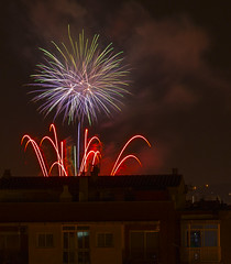 fireworksjose luis_8 (jlmontes) Tags: night fireworks fuegosartificiales nikond3100 fiestamayorpalleja2013
