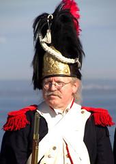 Napoleonian soldier (Val in Sydney) Tags: soldier la costume day sydney australia nsw napoleon bastille australie perouse