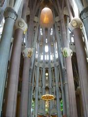 Barcelona 2013 : La Sagrada Familia Basilica (kristenlanum) Tags: barcelona spain gaudi sagradafamilia