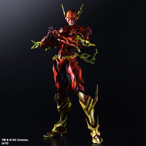 Play Arts 改 DC COMICS 變體版「閃電俠」