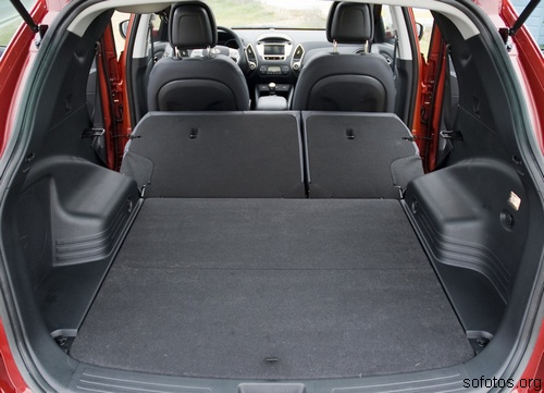 Hyundai ix35 porta malas
