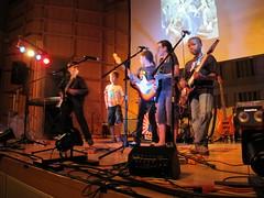 IMG_4279 (NYC Guitar School) Tags: nyc guitar school performance rock teen kids music 81513 summer camp engelman hall baruch gothamist plasticarmygirl samoajodha samoa jodha