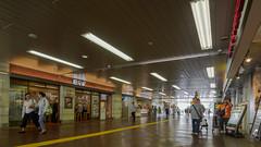 Shops in station (kasa51) Tags: street people station japan shop olympus yokohama omd totsuka f4056 em5 918mm mzuiko jr