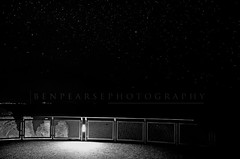 Echo point at night (benpearse) Tags: bw 3 night sisters stars point three nightscape ben echo australia nsw katoomba pearse