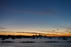 Rowing sequence - Auckland, New Zealand (Mohammed Bin Khaled) Tags: new sunset water beauty clouds bay boat yacht auckland zealand rowing sequence