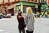 bleeker (René Sterling) Tags: street nyc girls 35mm nikon kodak cab taxi f3 portra 800 hailing