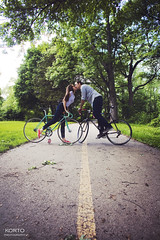 Sarah + Will: Engaged!! (KORTO Photography) Tags: engagement couple bikes happycouple engaged coupleportrait engagementphotos oswego engagementphotography engagedcouple coupleinlove korto chicagophotographer engagementphotographer couplephotography sarahloar illinoisphotographer chicagoportraitphotographer chicagoengagementphotographer willbrand kortophotography allisonkortokrax engagementphography engagementinspiration chicagocreativephotographer