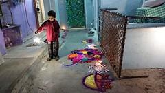Diwali celebrations (Raja Islam) Tags: pakistan boy kid enjoy diwali karachi hindu celebrating charpai cleberation charpaee