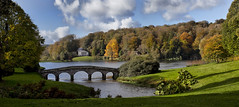 Stourhead (yadrad) Tags: autumn lake pantheon stourhead nationaltrust tuliptree palladianbridge