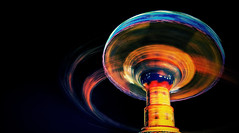 Painting with Time and Amusement (Dan Haug) Tags: amusement painting light night ef1635mmf28liiusm canon eos explore explored