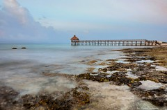 too many rocks for a swim (Rex Montalban Photography) Tags: mexico playadelcarmen hdr mayanriviera rexmontalbanphotography mayanpalacepier