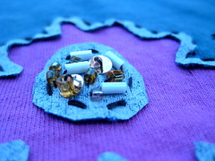 Alabama Chanin Detail (cupcakes photos) Tags: hand alabama made cotton bloomer trading jersey dharma beaded dyed chanin