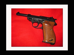 Walther P38 Service Pistol (oldsouthvideo) Tags: germany gun military nazi wwii german weapon pistol automatic handgun walther luger p38 semiautomatic 9mmpistol parabelum