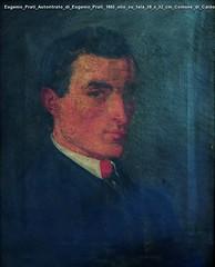 Eugenio Prati Autoritrato di Eugenio Prati 1863 olio su tela 38 x 32 cm Comune di Caldonazzo