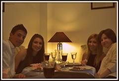 Amores Míos... (raquelica) Tags: family portrait smile familia dinner navidad retrato teenager nephews nochevieja cena sobrinos sansilvestre newyear´seve sonrisas vélezrubio raquelica nikond3100